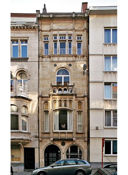 Rue Gachard 78, Ixelles, façade (© urban.brussels)