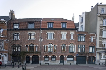 Rue Antoine Labarre 7-9 et 11, Ixelles (© urban.brussels)