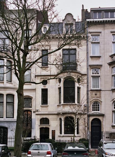 Avenue Molière 166, Ixelles, maison et atelier du peintre Firmin Baes (© urban.brussels)