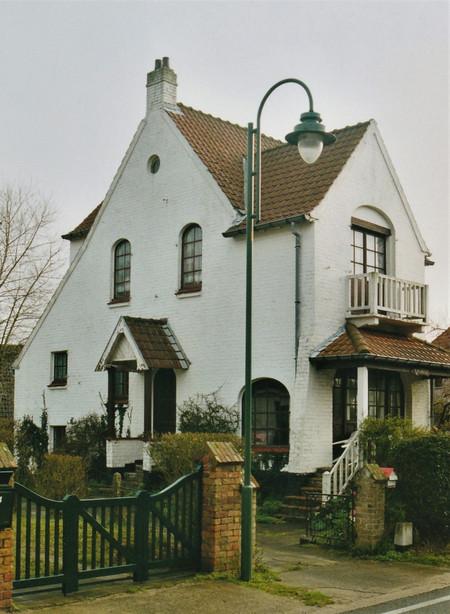 Witteberglaan 22, La Panne, Villa 'La Grève' (© T. Verhofstadt, photo 2001)