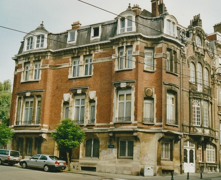 Rue des Cottages 160, Uccle (© T. Verhofstadt, photo 2001)