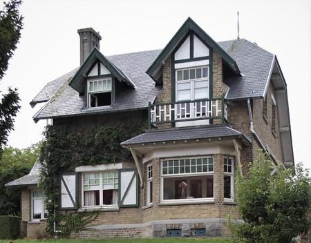 Visserslaan 19, La Panne, Villa 'Désiré' (© T. Verhofstadt, photo 2019)