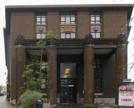 Boulevard Gustave Roullier 1, Charleroi, Université du Travail - Bâtiments d'administration (© ARCHistory, photo 2018)