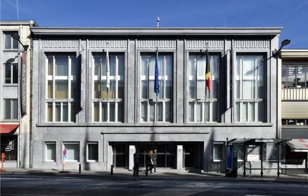 Rue Ravenstein 4, Bruxelles, siège de l'ancienne Fédération des Industries Belges - FIB, aujourd'hui FEB (© ARCHistory, photo 2019)