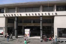 Galerie Ravenstein, Bruxelles, entrée côté rue Ravenstein (© T. Verhofstadt, photo 2019)