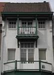 Koning Albertplein 4, La Panne, Villa 'Lujany', étages (© T. Verhofstadt, photo 2019)