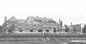 Chaussée de Tirlemont 85, Jodoigne, ancienne Ecole normale pour Jeunes Filles (© Dumont, Dumont & Van Goethem, Quelques travaux d'architecture, [1939], p. 7)