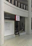 Galerie Ravenstein, Bruxelles, vitrine commerciale dans la rotonde (© T. Verhofstadt, photo 2019)