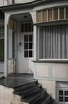 Koning Albertplein 3, La Panne, Villa 'Linette', entrée (© T. Verhofstadt, photo 2019)