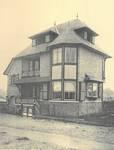 Halmenstraat 1, La Panne, Villa 'Windsor' (© Album de la Maison Moderne, Série XI, Planche XXXXII [1908])