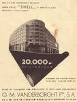 Rue Ravenstein 48-70 et Cantersteen 39-55, Bruxelles, Shell Building (© Bâtir, 22, 1935, p. 35)