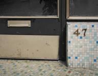 Galerie Ravenstein, Bruxelles, détail sur une vitrine dans la rotonde (© T. Verhofstadt, photo 2019)