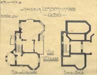 Halmenstraat 1, La Panne, Villa 'Windsor' (© Album de la Maison Moderne, Série XI, Planche XXXXIII [1908])