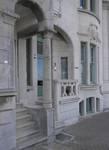 Geitenweg 7 et 9, La Panne, Villas 'Arc-en-ciel' et 'Coup-de-Vent', entrées (© T. Verhofstadt, photo 2019)