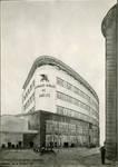Rue Ravenstein 26-46, Bruxelles, Assurances Trieste, perspective, 1934 (© Fondation CIVA Stichting/AAM, Brussels)