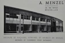 Rue Ravenstein 26-46, Bruxelles, Assurances Trieste en 1936 (L'Émulation, 5, 1936)