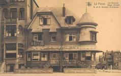 Zeedijk (west), La Panne, Villa 'Les Glauces', détruite (© Collection cartes postales, Yves Dumont - ARCHYVES)