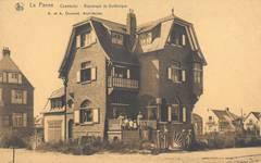 Duinkerkelaan 33, La Panne, Villa 'Chantecler' (© Collection cartes postales, Yves Dumont - ARCHYVES)