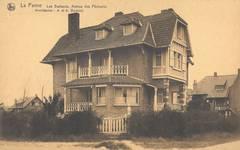 Visserslaan 31, La Panne, Villa 'Les Goelands' (© Collection cartes postales, Yves Dumont - ARCHYVES)
