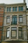 Rue des Bataves 63, Etterbeek, étages (© T. Verhofstadt, photo 2001)