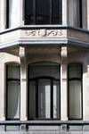 Rue De Crayer 17, Bruxelles Extension Sud, fenêtre au rez-de-chaussée (© urban.brussels)