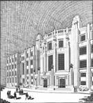Boulevard de l'Abattoir 50, Bruxelles, Institut  des Arts et Métiers (© Clarté, 12, 1928, 10)