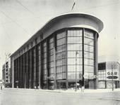 Place de l'Yser 7, Bruxelles, Citroën (© Dumont, Dumont & Van Goethem, Quelques travaux d'architecture, [1939], p. 42)