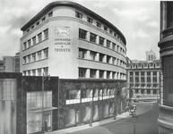 Rue Ravenstein 26-46, Bruxelles, Assurances Trieste (© Dumont, Dumont & Van Goethem, Quelques travaux d'architecture, [1939], p. 40)