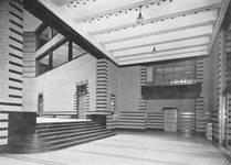 Boulevard Gustave Roullier 1, Charleroi, Université du Travail - Bâtiments d'administration (© Dumont, Dumont & Van Goethem, Quelques travaux d'architecture, [1939], p. 37)