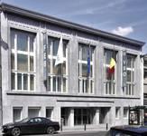 Rue Ravenstein 4, Bruxelles, siège de l'ancienne Fédération des Industries Belges aujourd'hui FEB (© T. Verhofstadt, photo 2019)