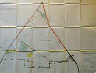 Rue Ravenstein 26-46, Bruxelles, Assurances Trieste, extension, plan de la salle de cinéma, AVB/TP 67196, 1955