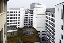 Rue Ravenstein 48-70 et Cantersteen 39-55, Bruxelles, Shell Building, façades arrière  (© ARCHistory, photo 2019)