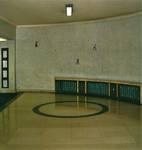 Galerie Ravenstein, Bruxelles, entrée vers les bureaux (© T. Verhofstadt, photo 2001)