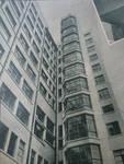 Rue Ravenstein 48-70 et Cantersteen 39-55, Bruxelles, Shell Building, façades arrière en 1934 (© Shell Echo, 1934)