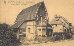 Kykhillweg 15, La Panne, Villa 'Beethoven' (© Collection cartes postales, Yves Dumont - ARCHYVES)