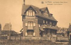 Bortierlaan 26 et 28, La Panne, Villa 'Les Cocorlis' (© Collection cartes postales, Yves Dumont - ARCHYVES)