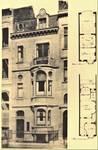 Avenue Molière 166, Ixelles, maison et atelier du peintre Firmin Baes (© L'Emulation, 6, 1910, pl. 26)