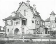 Bortierlaan 39 et Visserslaan 34, La Panne, Villa 'Pan' ou villa personnelle d'Alexis Dumont (© Dumont, Dumont & Van Goethem, Quelques travaux d'architecture, [1939], p. 38)