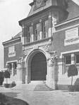 Chaussée de Tirlemont 85, Jodoigne, ancienne Ecole normale pour Jeunes Filles (© Dumont, Dumont & Van Goethem, Quelques travaux d'architecture, [1939], p. 6)