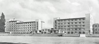 Avenue Paul Héger, Bruxelles Extension Sud, ULB - Bâtiment F1 - cité estudiantine Paul Héger (© Dumont, Dumont & Van Goethem, Quelques travaux d'architecture, [1939], p. 31)