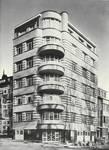 Square Solbosch 6, Ixelles (© Dumont, Dumont & Van Goethem, Quelques travaux d'architecture, [1939], p. 49)