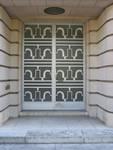 Avenue Franklin Roosevelt 158, Bruxelles Extension Sud, portique d'entrée (© urban.brussels)