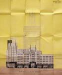 Rue Ravenstein 48-70 et Cantersteen 39-55, Bruxelles, Shell Building, élévation côté Cantersteen,  AVB/TP 65861, 1931