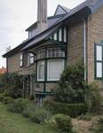 Hoge Duinenlaan 18, La Panne, Villa 'Eva-Germaine', façade latérale (© T. Verhofstadt, photo 2019)