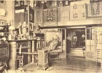 Avenue Molière 166, Ixelles, maison et atelier du peintre Firmin Baes (© L'Emulation, 6, 1910, pl. 27)