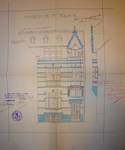 Rue Thomas Vinçotte 44, Schaerbeek, maison pour le peintre Herman Richier, élévation, ACS/Urb. 54-164; 54-166