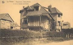 Hoge Duinenlaan 22 et 26, La Panne, Villas 'Les Lauriers' et 'Maison Neuve' (© Collection cartes postales, Yves Dumont - ARCHYVES)