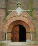 Parochiekerk Sint-Laurentius, Kemmel, portique (© T. Verhofstadt, photo 2001)
