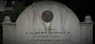 Albert Dumontlaan, La Panne, Monument commémoratif Albert Dumont (© T. Verhofstadt, photo 2019)