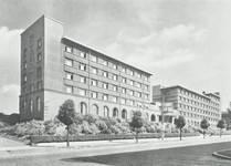 Avenue Paul Héger, Bruxelles Extension Sud, ULB - Bâtiment F1 - cité estudiantine Paul Héger (© Dumont, Dumont & Van Goethem, Quelques travaux d'architecture, [1939], p. 32)